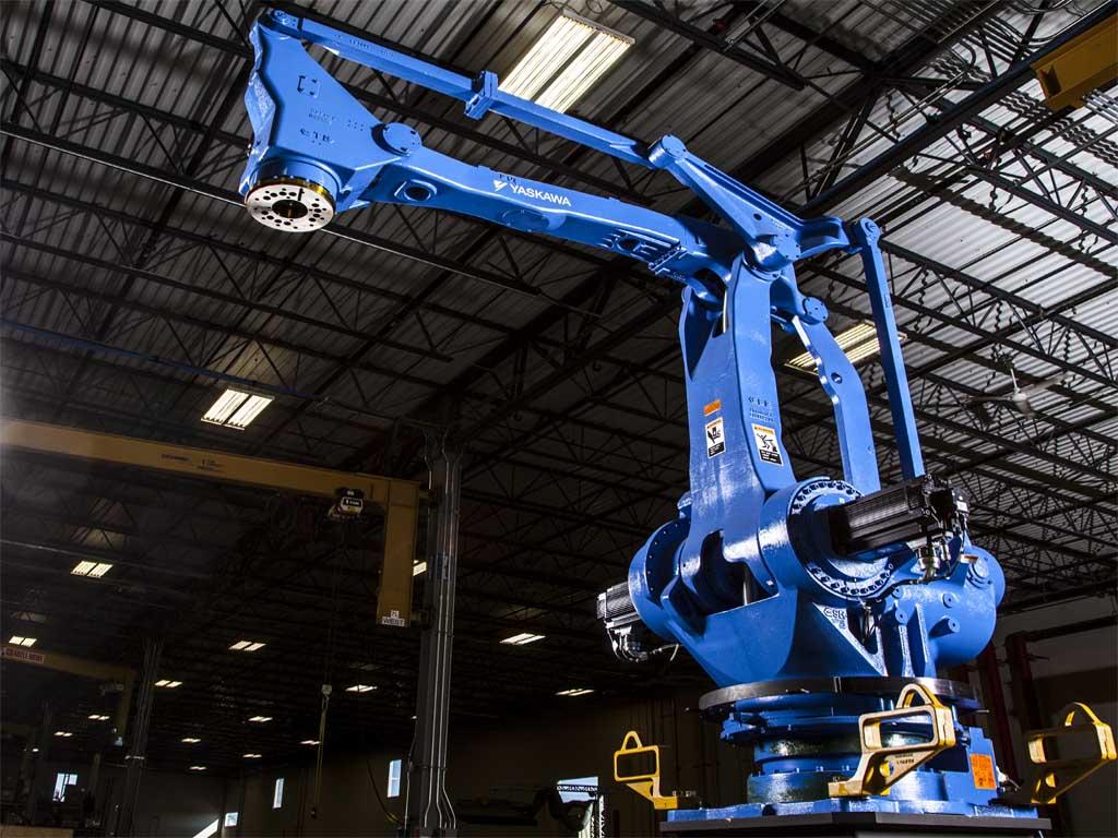 پلتایزینگ رباتیک